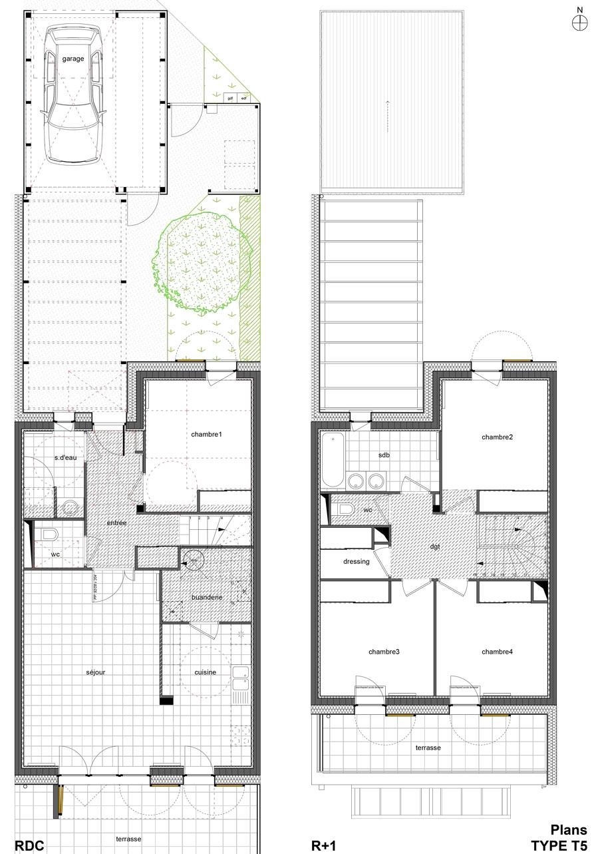 39 Passive Houses Qe Atelierphilippemadec