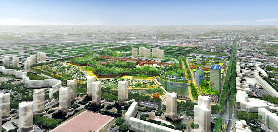 The Fort d'Aubervilliers Sustainable District (NQU 2011)