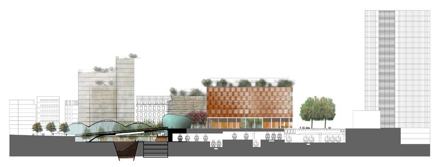 the chevaleret district of the seine rive gauche atelierphilippemadec. Black Bedroom Furniture Sets. Home Design Ideas